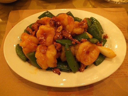 糖朝 -海老と野菜炒め