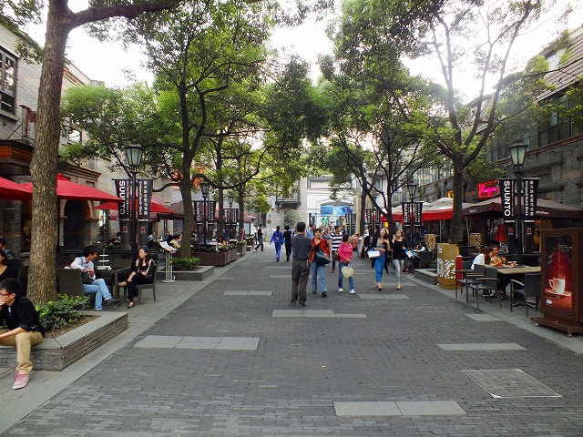上海の新天地