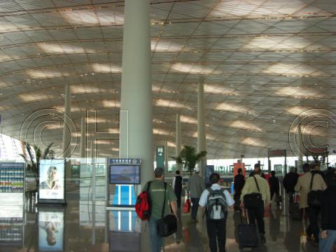 北京国際空港(2008年5月) 14