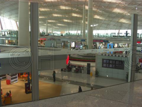 北京国際空港(2008年5月) 16