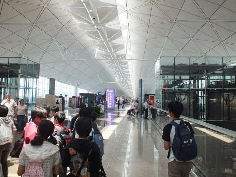 香港国際空港 10