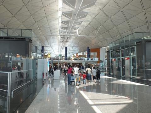 香港国際空港 21
