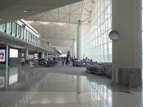 香港国際空港 22