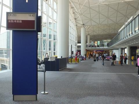香港国際空港 23