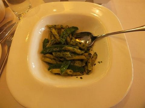 香港ハーバーシティのイタリア料理Spassoのパスタ