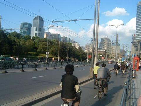 上海(2005年10月)の様子 4