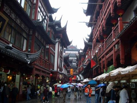 上海(2005年10月)の様子